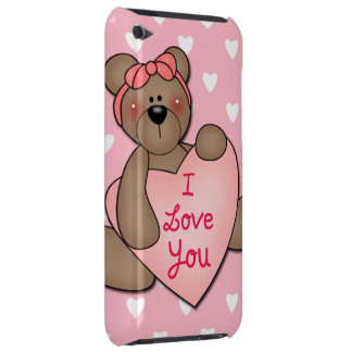 I Love You Teddy Bear iPod Touch Covers