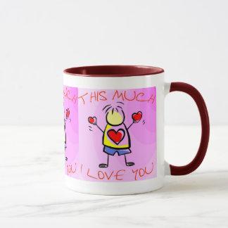 I Love you This Much (1) Mug