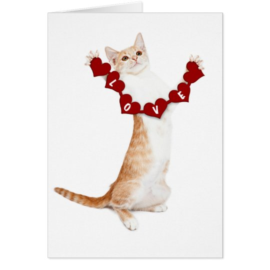 I Love You This Much card with kitten