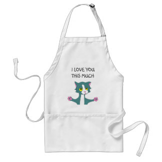 , I LOVE YOU THIS MUCH STANDARD APRON