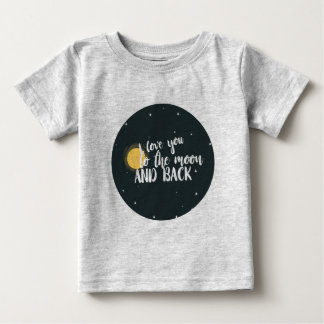 I love you to the moon and back baby T-Shirt