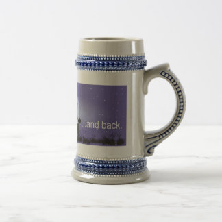 I Love You to the Moon and Back-boy blowing bubble Beer Steins