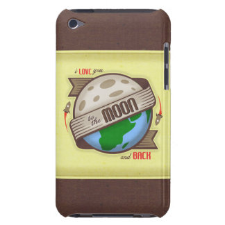 I Love You To The Moon And Back - iPod Touch Case