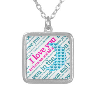 I Love You to the Moon and Back Mothers Day Gifts Pendant