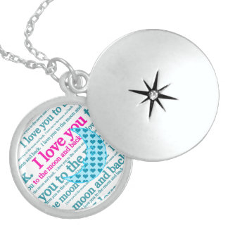 I Love You to the Moon and Back Mothers Day Gifts Locket