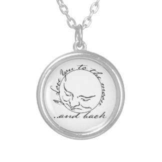 I Love you to the Moon and Back Custom Jewelry
