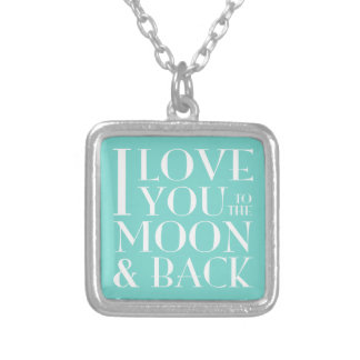 I love you to the moon and back jewelry
