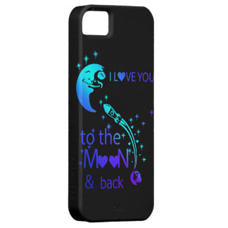 I love you to the moon & back case for the iPhone 5