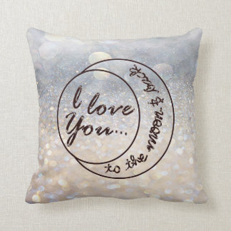 I Love You to the Moon & Back Cushion