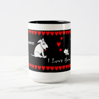 I Love You Two-Tone Mug