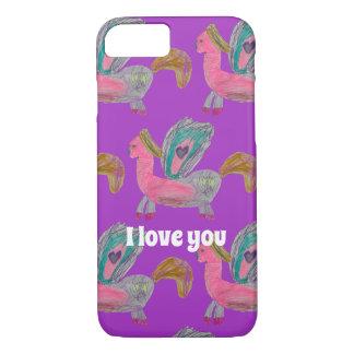 I love you Unicorn Phone Case