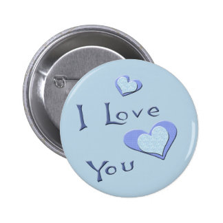 I Love You Valentine T-shirts and Gifts 6 Cm Round Badge