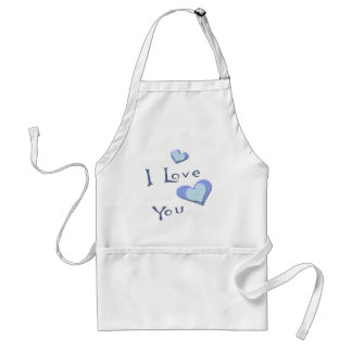 I Love You Valentine T-shirts and Gifts Standard Apron