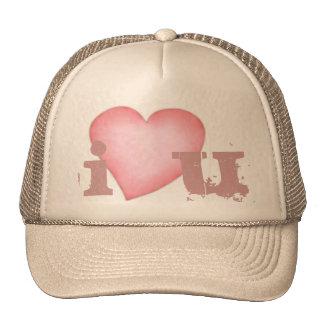 I love you Valentine's day hat for men