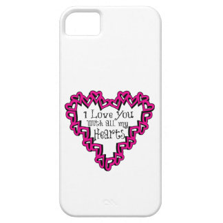 I Love You With All My Hearts iPhone 5/5S Cases