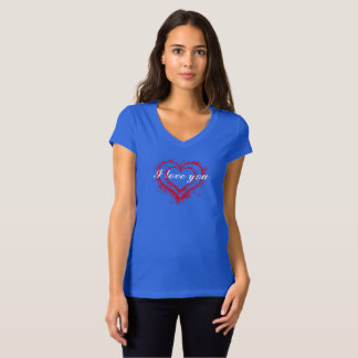 I love you womans shirt