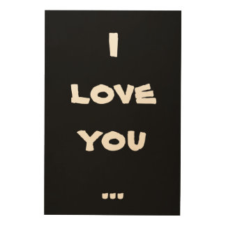 I love you wood wall art, wood wall art, wall art