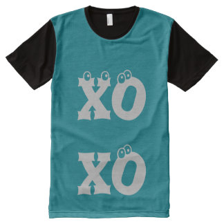 I Love You xoxo All-Over Print T-Shirt
