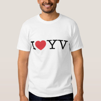 I Love YV EDUN LIVE Genesis Unisex Standard Crew Shirt