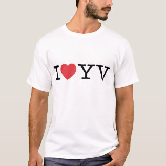 I Love YV EDUN LIVE Genesis Unisex Standard Crew T-Shirt