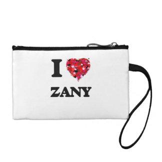 I love Zany Change Purse