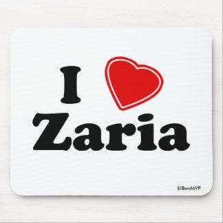 I Love Zaria Mousepad