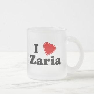 I Love Zaria Coffee Mug