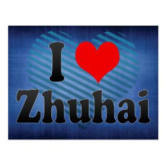 I Love Zhuhai, China. Wo Ai Zhuhai, China Postcard