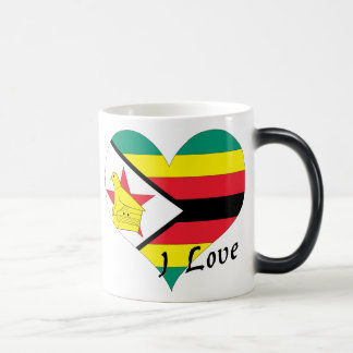 I love Zimbabwe Magic Mug