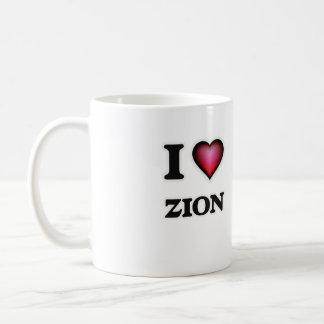 I Love Zion Coffee Mug