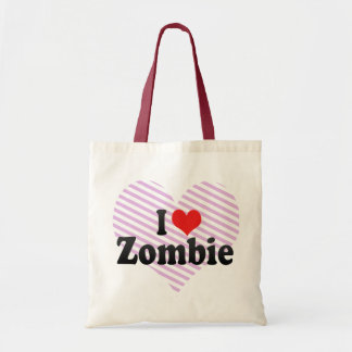 I Love Zombie Bags