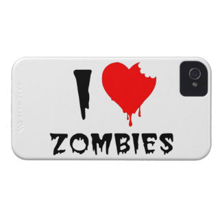 i love zombies iPhone 4 covers