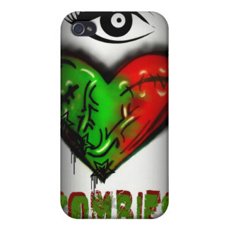 I love Zombies(case) iPhone 4/4S Cases