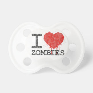 I Love Zombies -  Humorous Baby Dummy