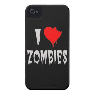i love zombies iPhone 4 cover