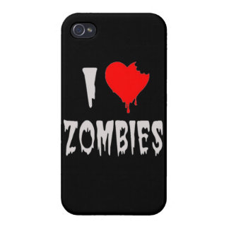 i love zombies covers for iPhone 4