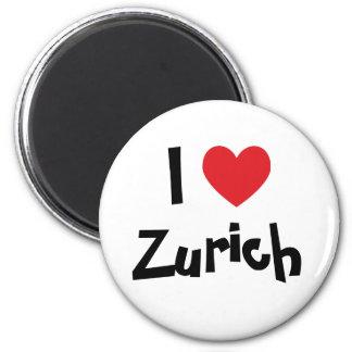 I Love Zurich Magnet