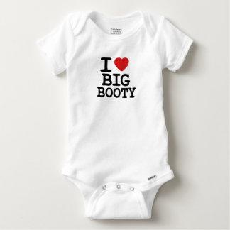 I LOVGE BIG BOOTY BABY ONESIE