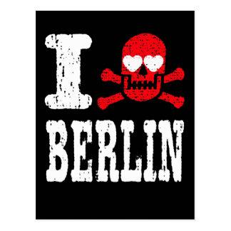 I LUV BERLIN POSTCARD