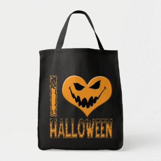 I Luv Halloween Jacko #2 Tote Bags