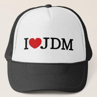 I LUV JDM 12V TRUCKER HAT