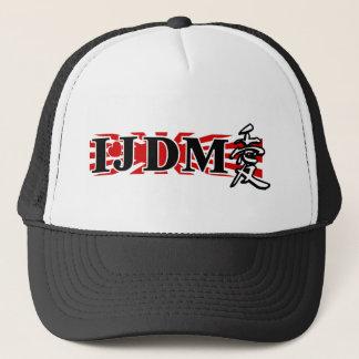 I LUV JDM FLAG TRUCKER HAT