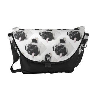I Luv My Pug Courier Bag