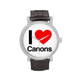 i lvoe canons wristwatches