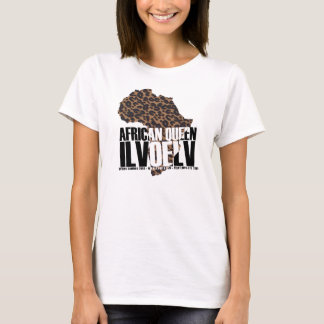 I LVOE LV African Queen T-Shirt