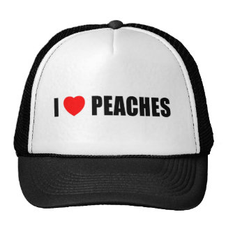 I Lvoe Peaches Cap