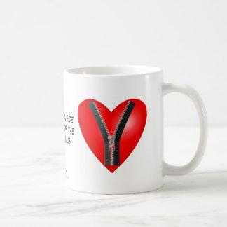 I m a bona fide member of the Zipper Club Coffee Mug