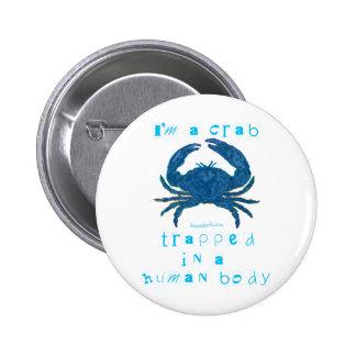I m a Crab Pin