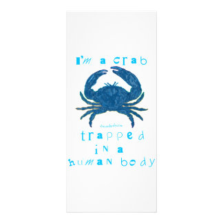 I m a Crab Customized Rack Card