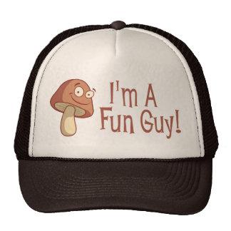I m A Fun Guy Mesh Hats